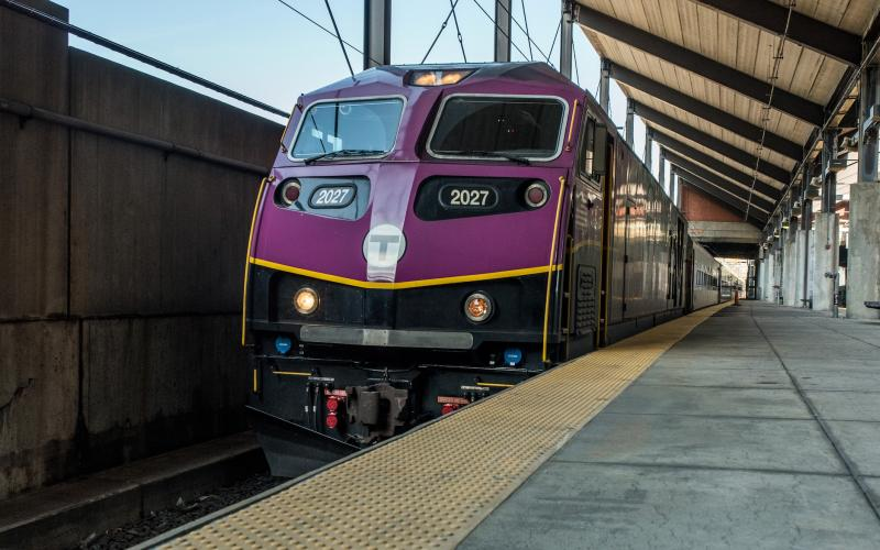 commuter rail locomotive car
