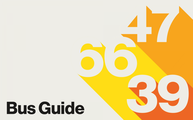 Bus Guide Clickable Graphic