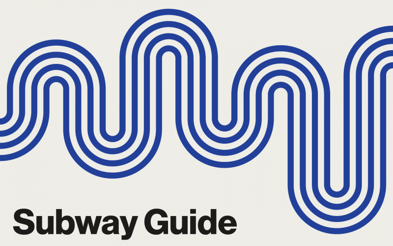 Subway Guide clickable graphic