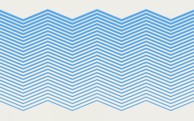 Clickable graphic resembling blue waves, for the Ferry Guide